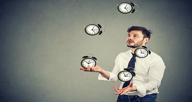مزاج شناسی ساعات شبانه روز
