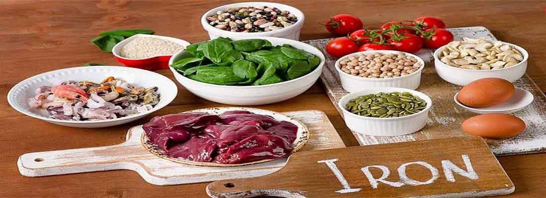 موادغذایی مفید برای کم خونی