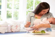 تقویت مادران شیرده