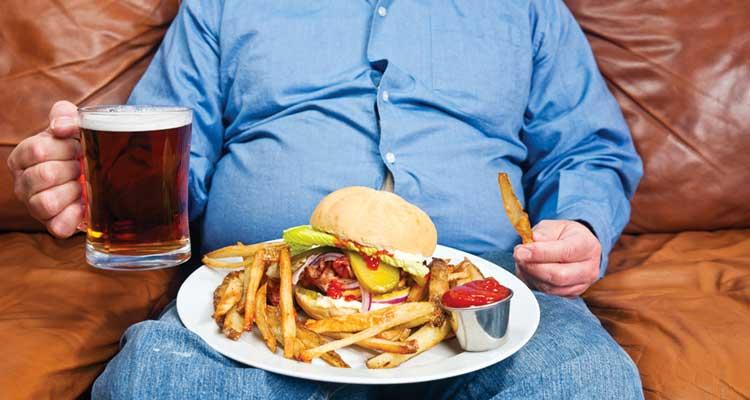 دست کشیدن از غذا قبل از سیری