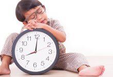 به موقع و به اندازه خوابیدن