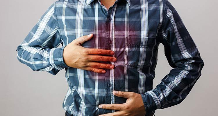 درمان ترش کردن معده ناشی از ازدیاد اسید معده