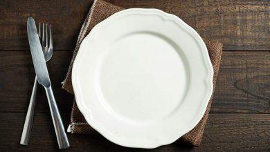 ظرف مناسب غذا خوردن