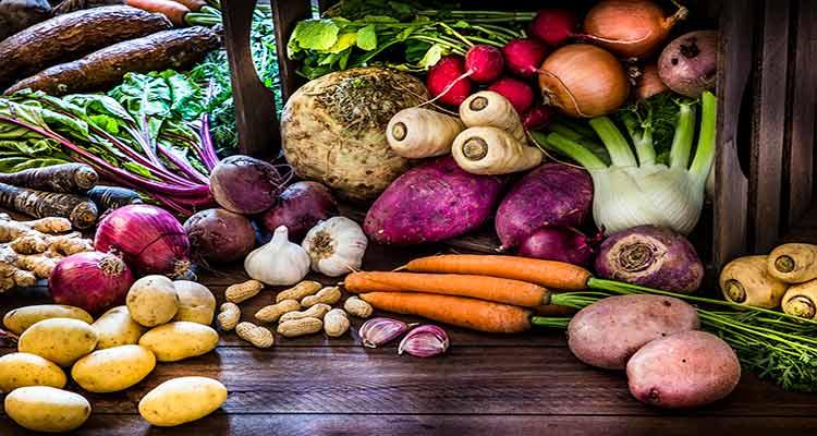 آشنایی با مزاج ریشه های خوراکی مختلف