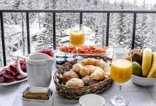 صبحانه در زمستان