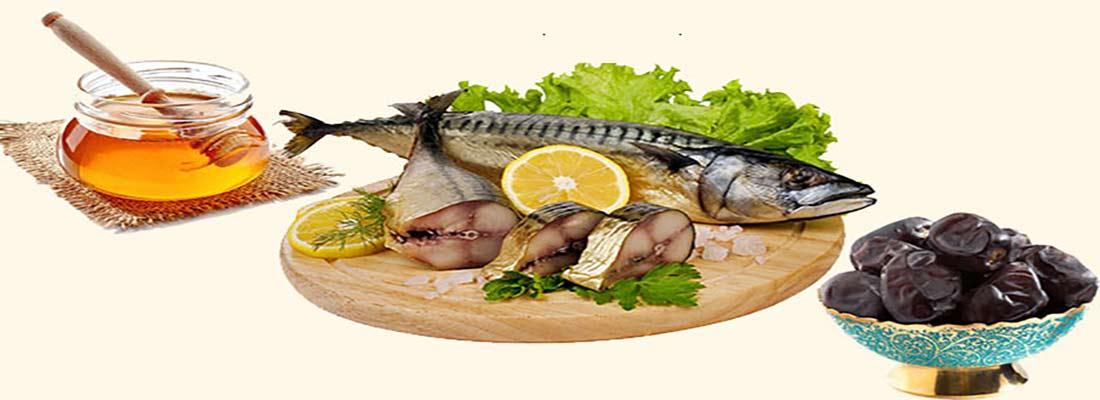 مصلحات ماهی در مزاجهای گرم و سرد