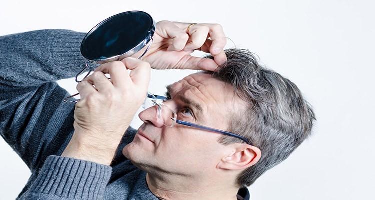 جلوگیری از سفیدی موها