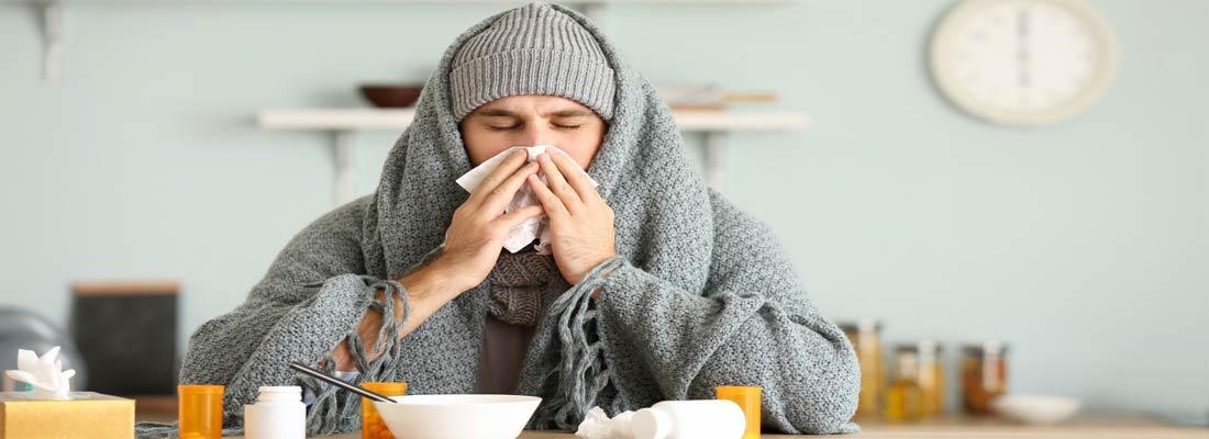 ضعف بدنی و سرماخوردگی مکرر