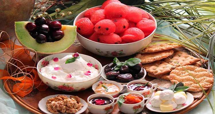 ملاحظات مصرف میوه در ماه مبارک رمضان