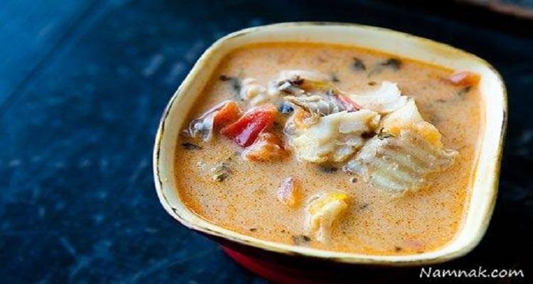 طرز تهیه لنجو (آبگوشت ماهی)