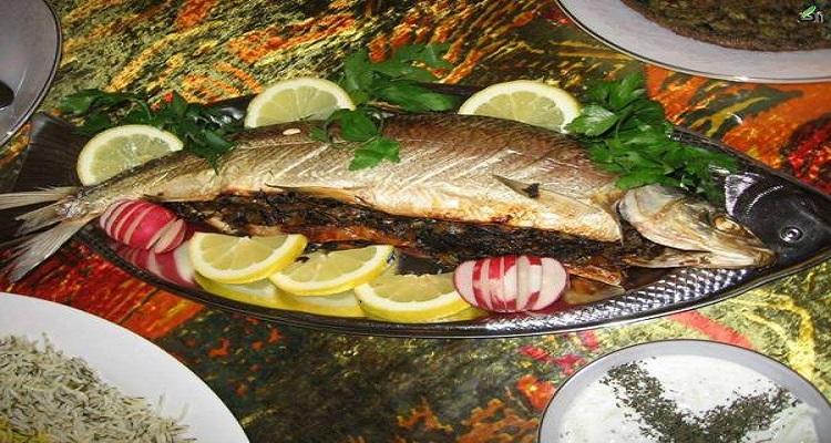 طرز تهیه ماهی شکمپر