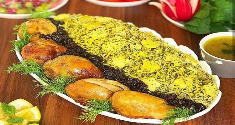 طرز تهیه سیب پلوی کرمانشاهی