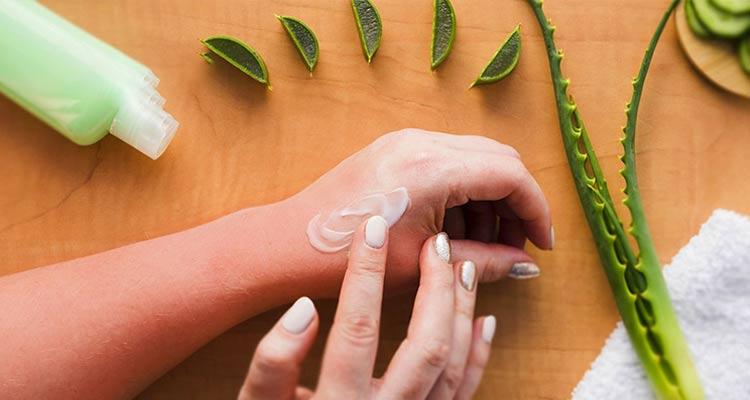 درمان آفتاب سوختگی و راهکاری خانگی پیشگیری از آن