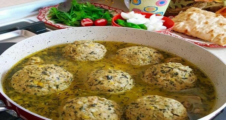طرز تهیه کوفته سبزی
