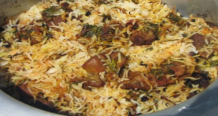طرز تهیه بره پلو عربی