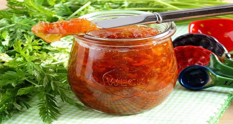 طرز تهیه مارمالاد هویج