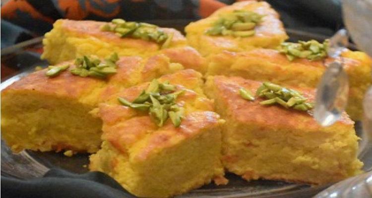 طرز تهیه کوکوی شیرین قزوین