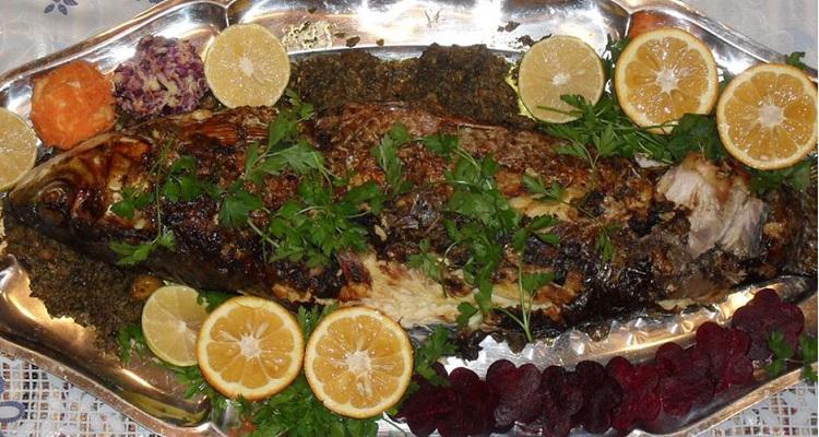 طرز تهیه ماهی تنوری صبور