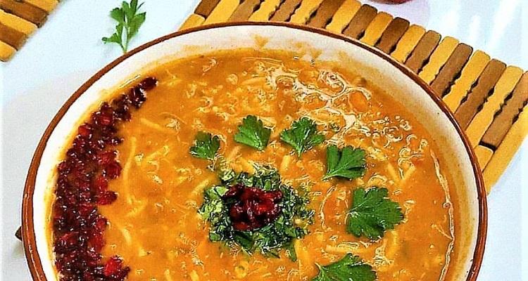 طرز تهیه سوپ جو با بویون مرغ (آب مرغ)