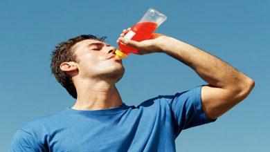 عدم مصرف شربت شیرین در هنگام گرمازدگی