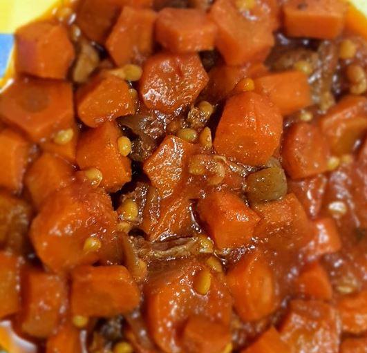 خورش قیمه هویج