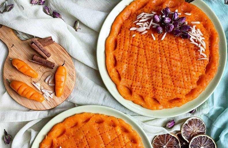 حلوای هویج یا زردک