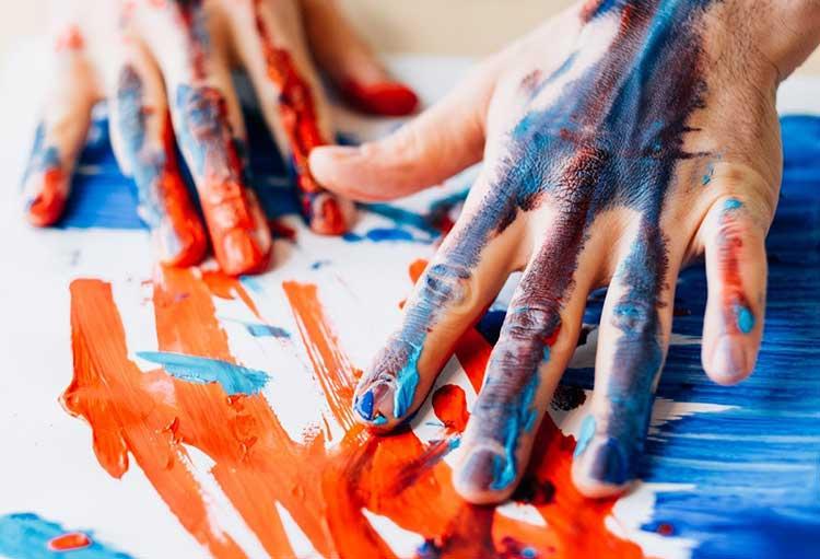 برای سلامت جسم و روان خود، رنگ درمانی کنید