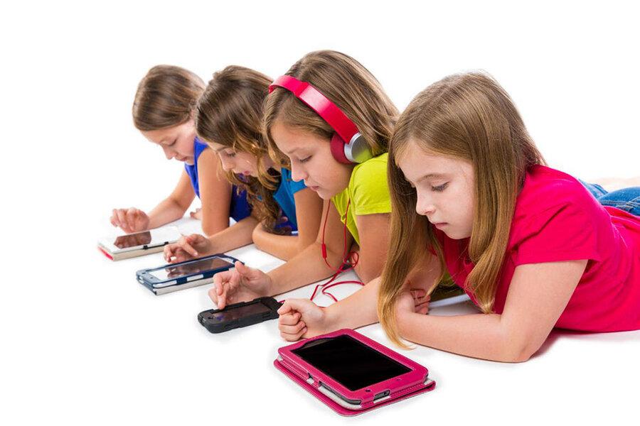 آسیبهای کلاس آنلاین به کودکان