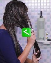 طریقه صحیح ماسک مو زدن