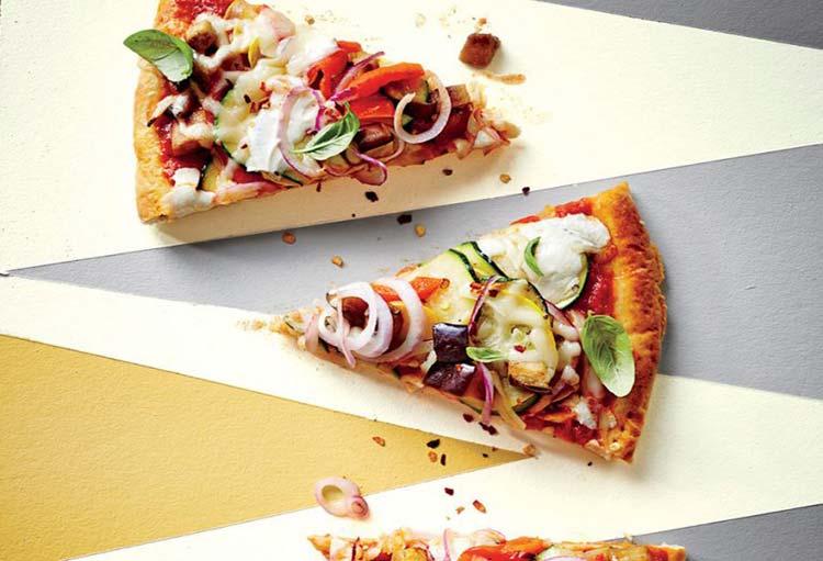 طرز تهیه پیتزا سالم فاقد گلوتن