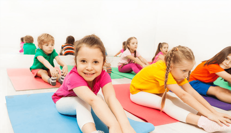 ورزش و تحرک کودکان