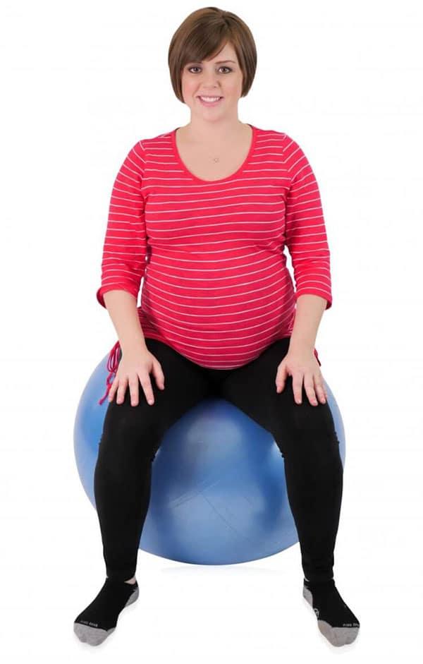 استفاده از توپ زایمان در بارداری