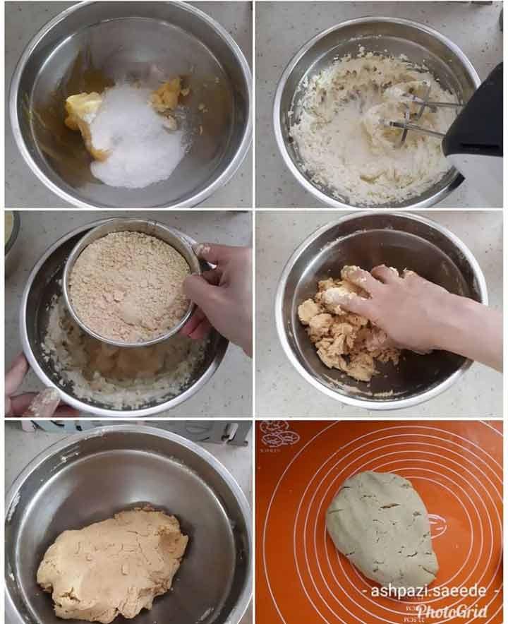 طرز تهیه شیرینی نخودچی در منزل