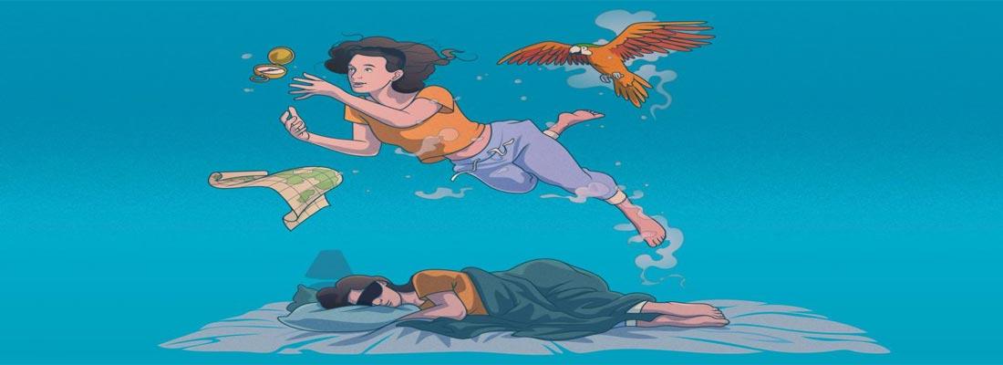 نشانه خواب و رویا در مزاجهای مختلف