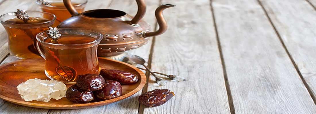 احتیاط در مصرف بی رویه خرما در وعده افطار و سحر
