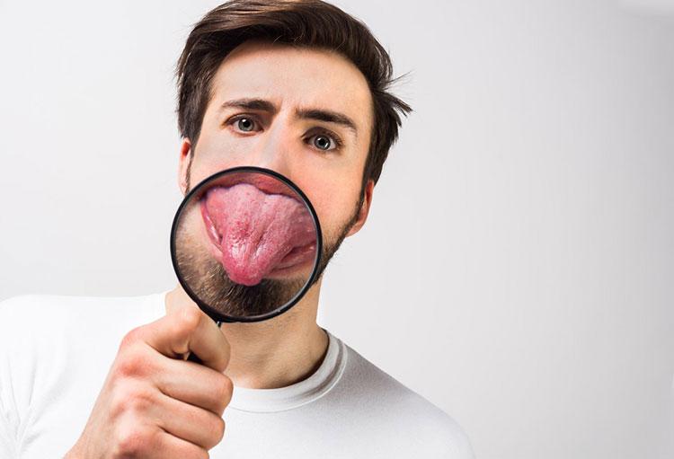 تشخیص مزاج از طریق رنگ زبان