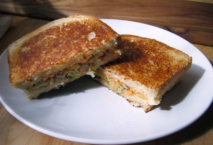 ساندویچ نخود ؛ فست فودی سریع، سالم و پروتئینی