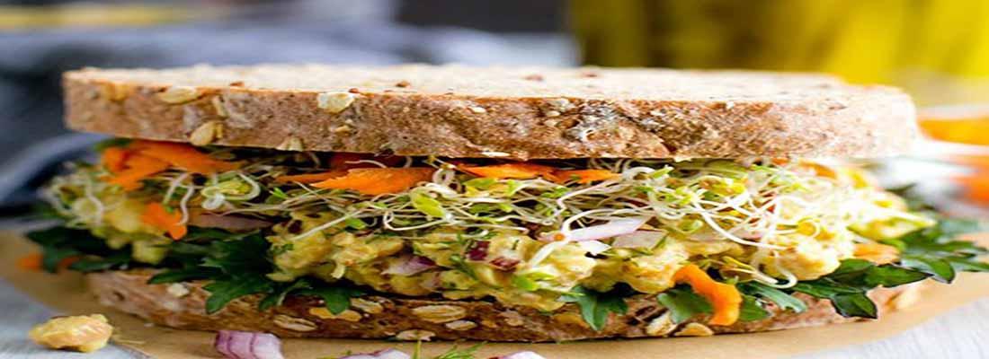 آموزش ساندویچ نخود به شیوه ساده و سالم