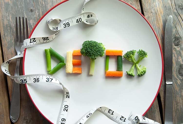 پاکسازی بدن با رژیم غذایی استاندارد
