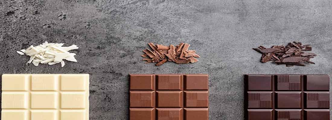 بررسی انواع شکلاتها